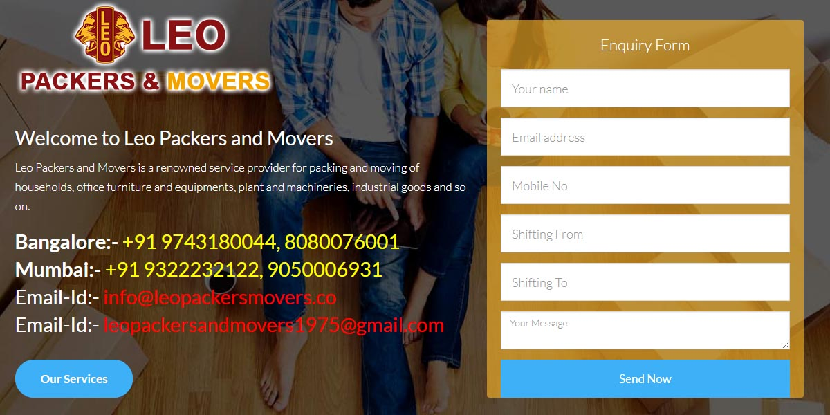 Leo Packers Movers